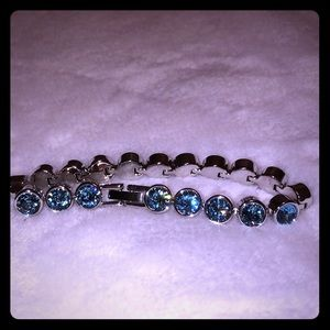 Aquamarine Ice bracelet
